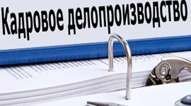 Организация кадрового делопроизводства